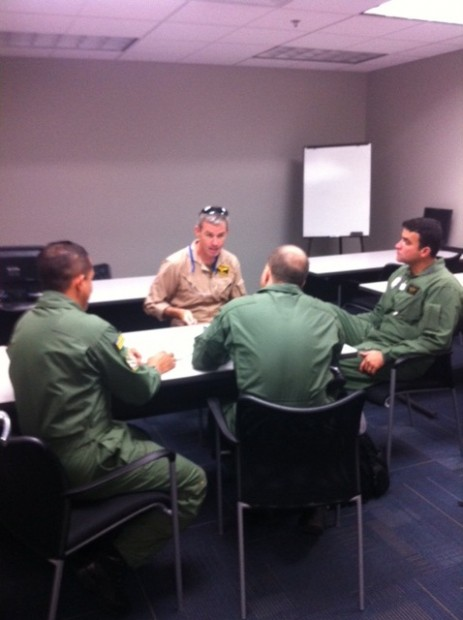 Briefing Treinamento Emergencia EUA