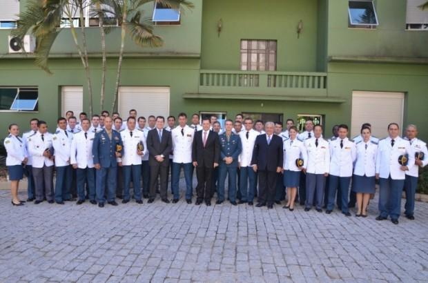 Governador e Oficiais do CBMGO