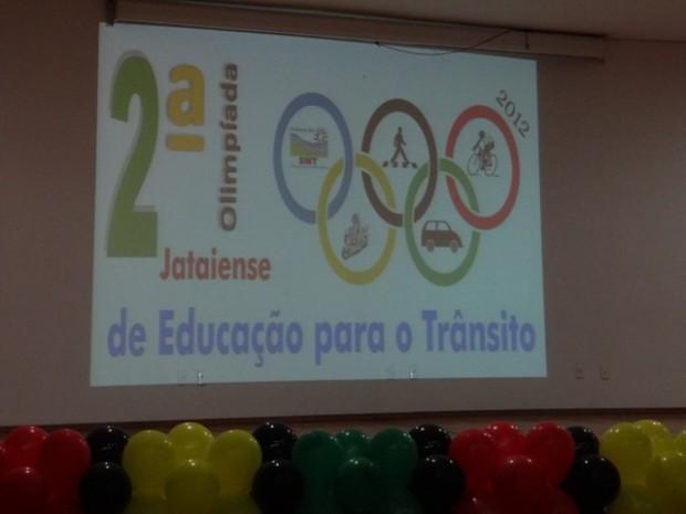 2ª Olimpíada Jataiense de Educação  para o Trânsito.