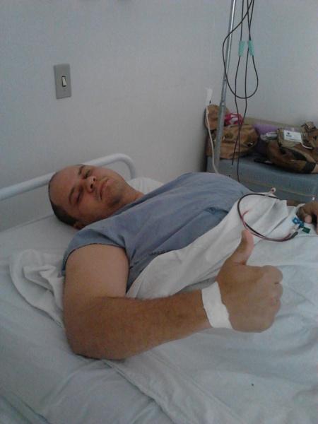 Soldado Clever Camilo Soares Junior: doação de medula