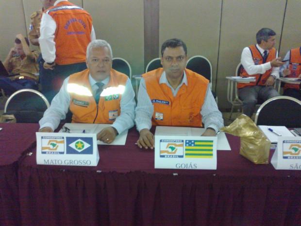 Cel Neto Comandante Geral do Ceará e Cel Edmilson
