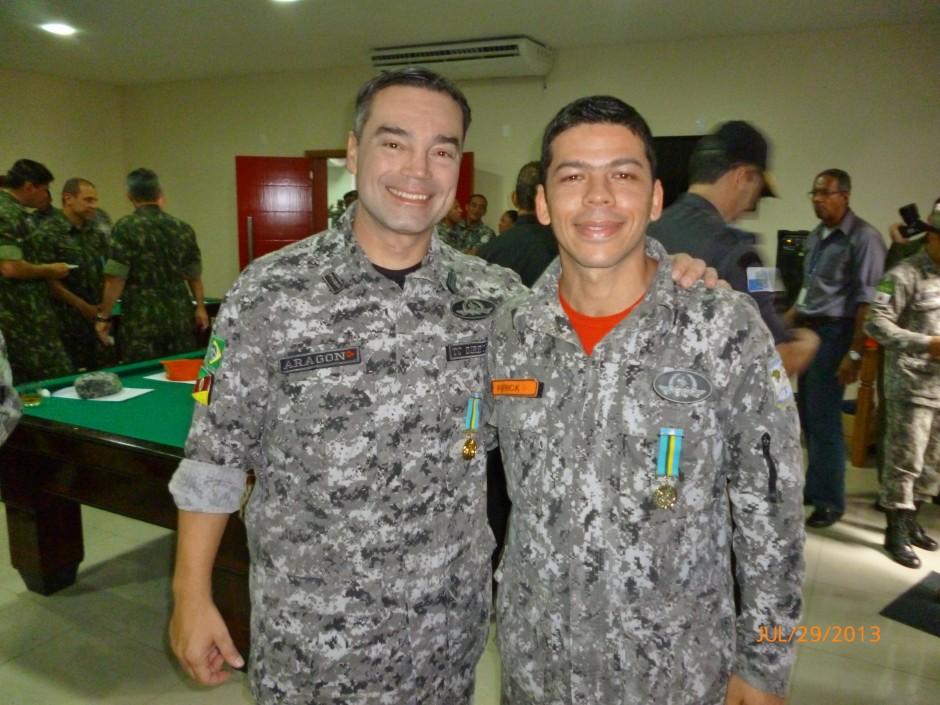 Foto com TC Aragon, Diretor da Força Nacional